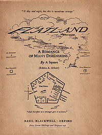 Flatland - A Romance of many dimensions by A Square