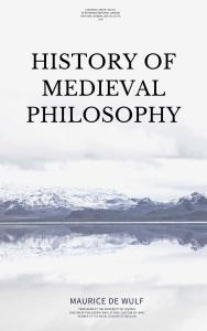 History of Medieval Philosophy PDF