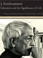 Krishnamurti Education and Life ebook cover