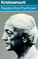 Krishnamurti Freedom from the known download free pdf ebook here