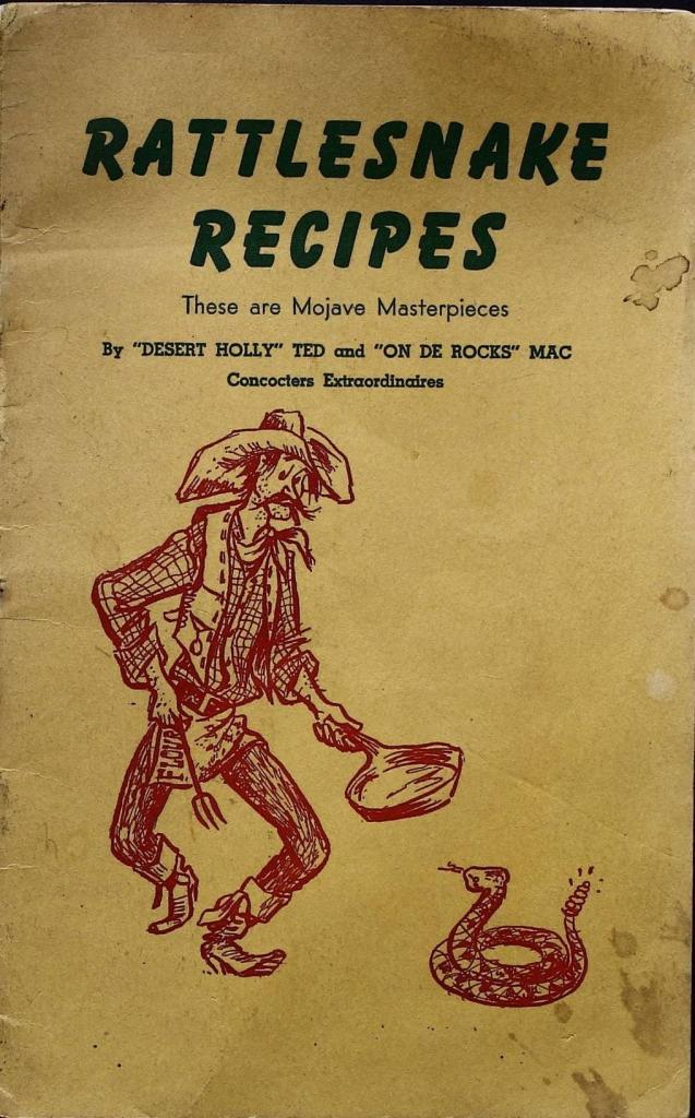 Rattlesnake Recipes free PDF Snake cooking book