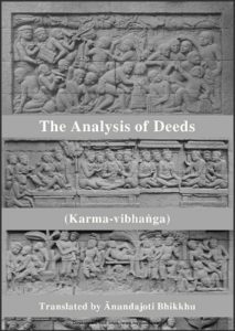 The Analysis of Deeds - Karma-vibhanga PDF