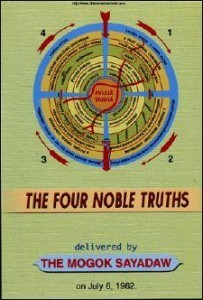 The Four Noble Truths by Mogok Sayadaw pdf ebook