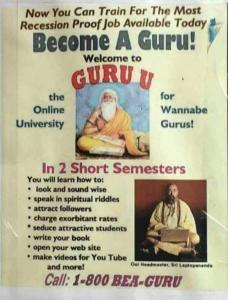 You can be a guru